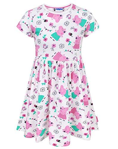 Peppa Pig Girl's Short Sleeved Dress