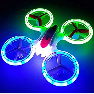 New Design SkyCo Mini Drone Helicopter UFO JXD 398 Lighting RC Quadcopter 2.4G 4CH 6 Axis with Fantastic LED Light Original by jdx