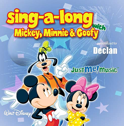 Price comparison product image Sing Along with Mickey,  Minnie and Goofy: Declan (DECK-lin)