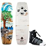 Liquid Force Peak Hybrid Wakeboard 133cm + Element Bindings