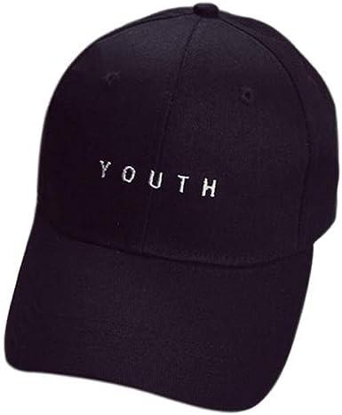 Fashion Unisex Hat Embroidery Snapback Adjustable Baseball Cap Run Sports Chic
