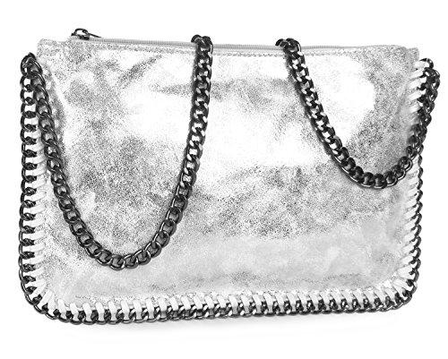 Lovely 14801 Silber Silber bandoulière Sac Argenté Lauri Silber rYxvqrXAw