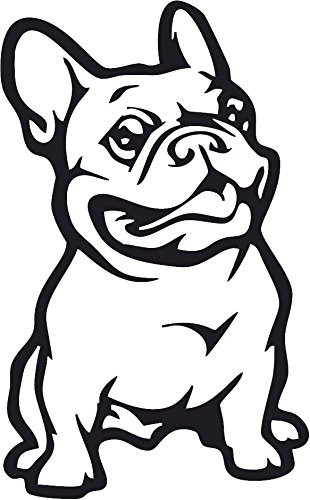 Amazon Com All About Families French Bull Dog Decal Black Die