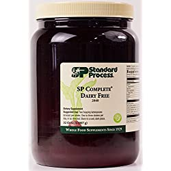 Standard Process - SP Complete Dairy Free - Whole Food Nutritional Supplement, Protein, Calcium, Antioxidant Activity, Supports Intestinal, Muscular, Immune System, Gluten Free, Vegetarian - 32 oz.