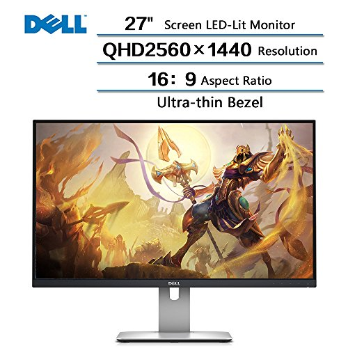 2018 Newest Dell Flagship Ultrasharp 27 Inches Screen LED-Li