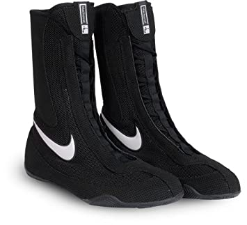 ecac4d899791f Nike Machomai Boxing Shoes - Black Hi Cut: Amazon.co.uk: Sports ...