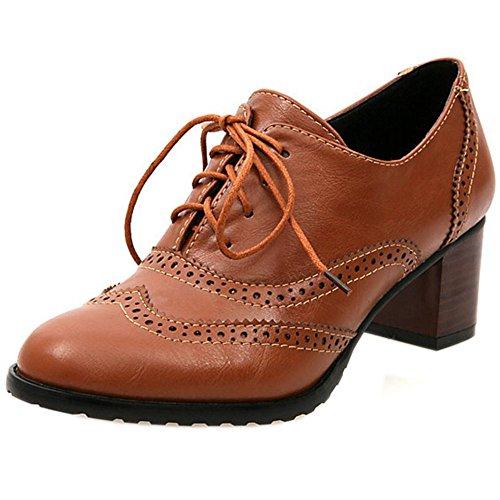 Zanpa Brown Brown Classique Classique Zanpa Femmes Zanpa Femmes Classique Brown Femmes Oxford Oxford Oxford OCr4wqOX