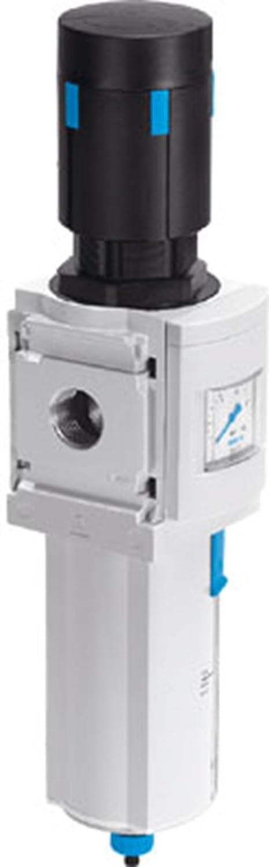 Festo 529186 Filter Regulator Unit, Model MS6-LFR-1/2-D7-CRV-AS