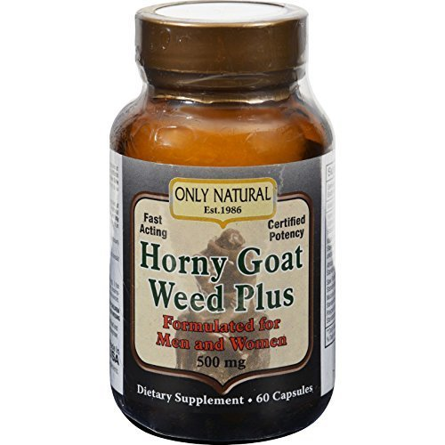 Only Natural Horny Goat Weed Plus 60 Cap