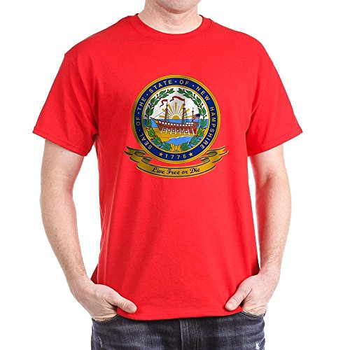CafePress - New Hampshire Seal - Classic Cotton T-Shirt for sale  Delivered anywhere in Canada