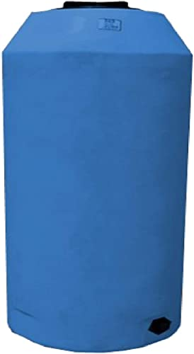 WECO Atmospheric Water Storage Tank for Potable Water Blue 500 Gal