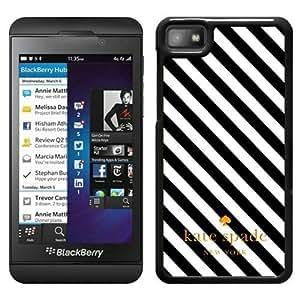 New Fashion Custom Designed Kate Spade Cover Case For Blackberry Z10 Black Phone Case 48
