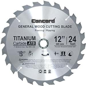 Concord Blades Wcb1200t024hp 12 Inch 24 Teeth Tct General