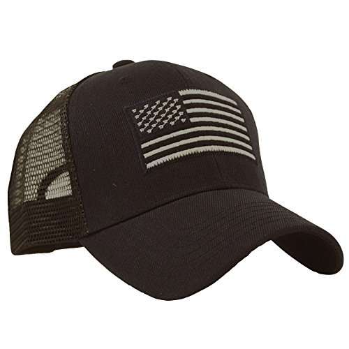 USA Flag Patch Tactical Style !esh Trucker Baseball Cap Hat (Cool Trucker Hat compare prices)
