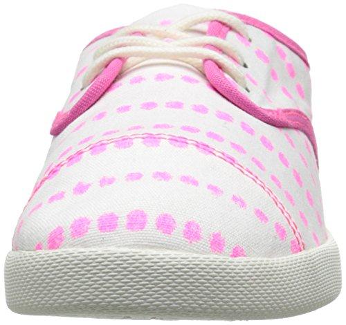 Pink Kids Dots White Mollie Prints Lil Hot Sanuk Laced Shoe gdq88z