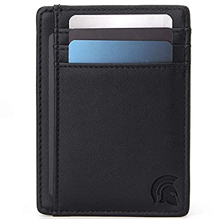 POWR Mens Wallet, Slim RFID Blocking Minimalist Credit Card Holder, Holds up to 7 Cards and Bank Notes, Ideal for Travel 51AQ0FYKeHL