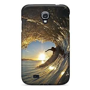 For Galaxy S4 Protector Case Breaking Wave Santa Barbara California Phone Cover