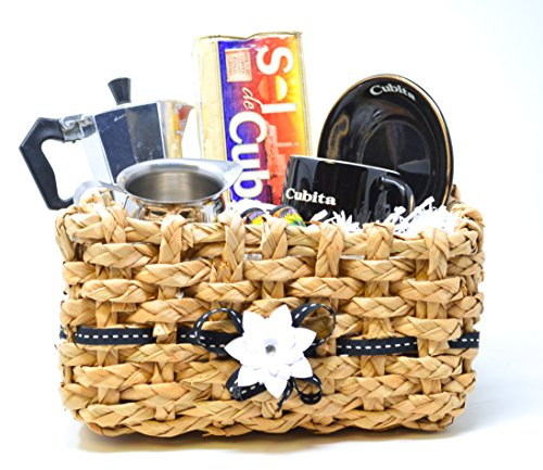 Cuban Coffee Starting Kit Gift Set with Instructions - Cuban Coffee for Beginners Gift Basket