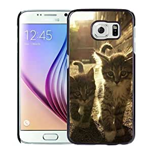 New Personalized Custom Designed For Samsung Galaxy S6 Phone Case For 2 Kittens Under The Sunlight Phone Case Cover