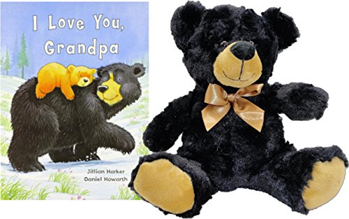 Stuffed Animal and Book - I Love You Grandpa Story Time Bedtime Book and Plush 10