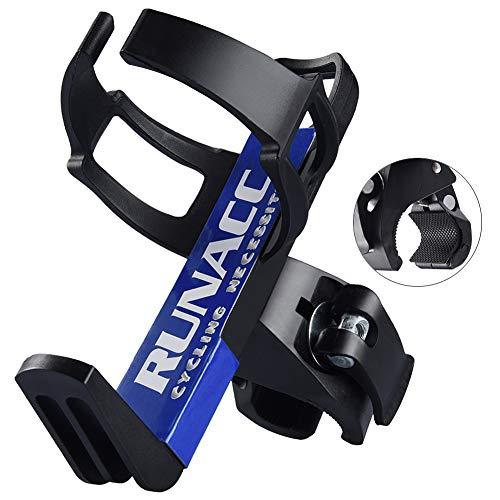 RUNACC Portabidon de bicicleta Ajustable Portabidon para bicicleta Botella Jaula Estante Cochecito Para MTB