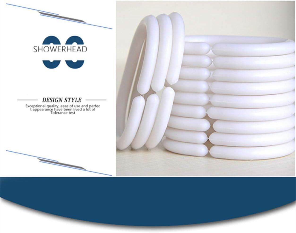 con 12 Anelli per Tenda Lavabile 240 x 200 cm Tenda da Doccia Impermeabile 240 x 200 cm in Tessuto Spesso antimuffa Muster-a X-Labor BxH 240x200cm