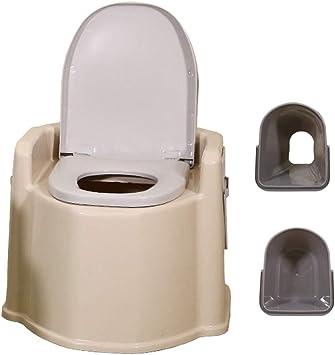 HYCZW Inodoro Portátil, WC Portátil para Camping Inodoro WC ...