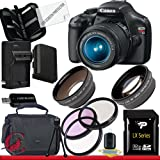 Canon EOS Rebel T3 12.2 MP CMOS Digital SLR with 18-55mm IS II Lens 32GB Package, Best Gadgets