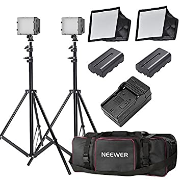 Neewer Two Pieces CN-216 Dimmable Ultra High Power Panel LED Video Light Lighting Kit  sc 1 st  Amazon.com & Amazon.com : Neewer Two Pieces CN-216 Dimmable Ultra High Power ... azcodes.com