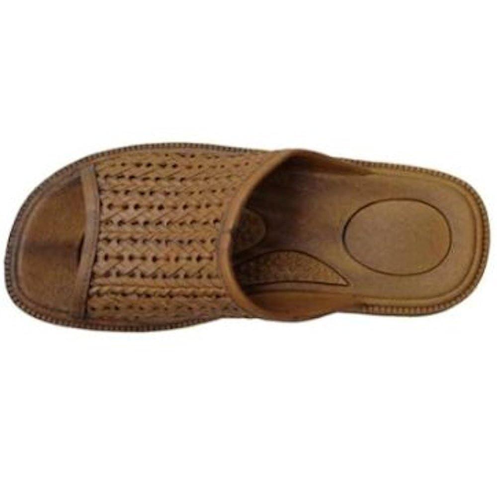 Pali Hawaii Basket Weave Slide Sandals Style 0187