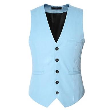 Mariage Gilet Veste Costume Homme Chengyang Slim Business Fit Mode T78qEC