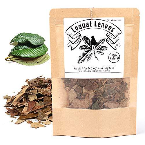 - [China Medicinal Herb] Loquat Leaf (Eriobotrya Japonica/枇杷叶/Pipaye/비파엽) Pure Natural Dried Loose Leaves 3 Oz(88g)