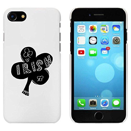 Blanc 'Trèfle Irlandais' étui / housse pour iPhone 7 (MC00080536)