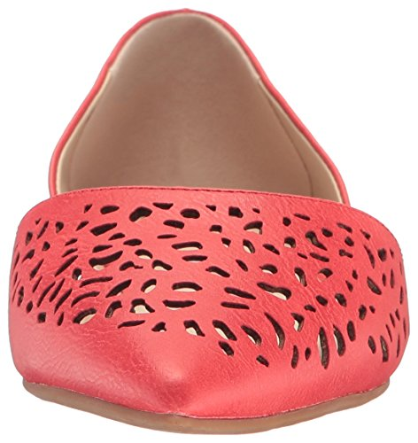 Bc Footwear Womens Take Me Away Toe Flat Toe Rosso