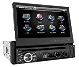 120Hz Led Tv - Power Acoustik PTID-8920 In-Dash DVD AM/FM Receiver with 7-Inch Flip-Out Touchscreen Monitor with USB/SD Input