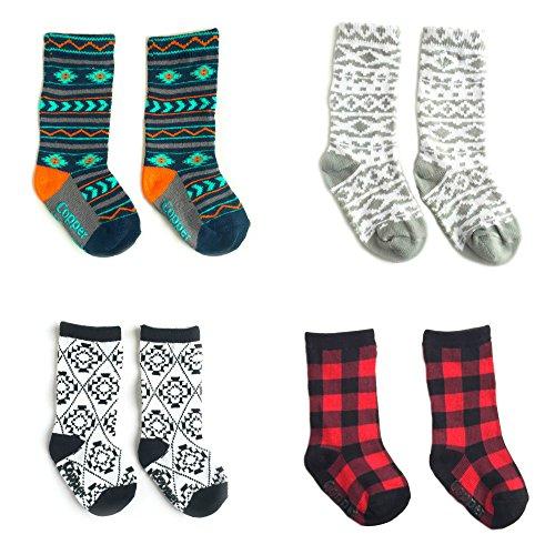 Patterned Knee Sock - 8