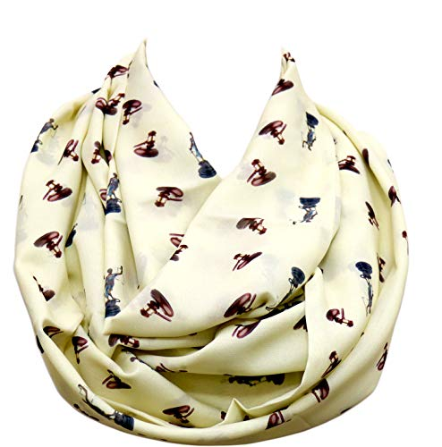 Lawyer Infinity Scarf gift for attorney Birthday Gift for her Judge graduation gift for law student Ivory (Best Judges To Clerk For)