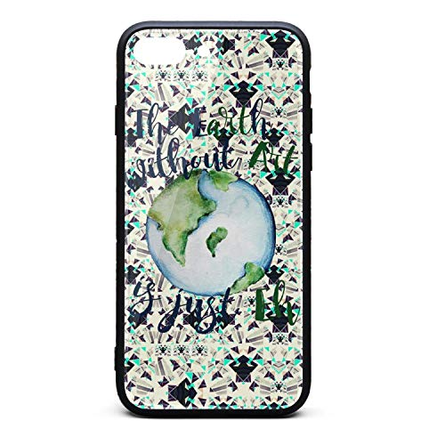 - Phonerebey iPhone 7 Plus/8 Plus Case,Happy Earth Day Anti-Scratch Shockproof Slim Cover Case Compatible with Apple iPhone 7 Plus/8 Plus Case,TPU and Tempered Glass
