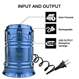 LED-Camping-LanternAkaho-Solar-Rechargeable-Collapsible-LED-Camping-Light-Handheld-Flashlight-in-the-Bottom-for-Backpacking-Hiking-Fishing-Outdoor-LightingBlue