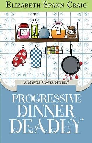 book cover of Progressive Dinner Deadly