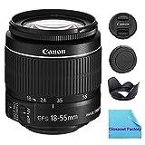 Canon EF-S 18-55mm f/3.5-5.6 IS II SLR Lens (White Box) For EOS Rebel XS, XSi, XT, XTi, T1i, T2i, T3, T3i, T4i, T5, T5i, 10D, 20D, 30D, 40D, 50D, 60D, 70D, 7D Digital SLR Cameras