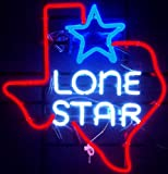 Neonetics 5TXSTR Texas Lone Star Neon Sign