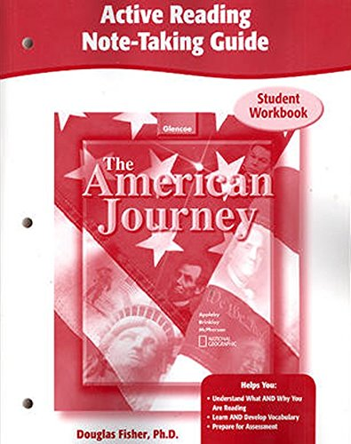 The American Journey, Active Reading Note-Taking Guide, Workbook (THE AMERICAN JOURNEY (SURVEY))