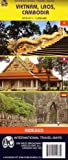 Vietnam Laos Cambodia, International Travel Maps, 1553410335