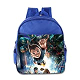 Kids Astro Boy School Backpack Fashion Children School Bag RoyalBlue