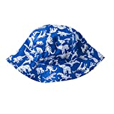 Toubaby Kid Boy's Dinosaur Sun Hats Little Boy's Sunmmer Hats Bucket Hat 0-7t (6-12M)