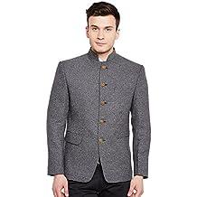 Wintage Men's Premium Rayon Grandad Bandhgala Nehru Coat Blazer Jacket Jodhpuri