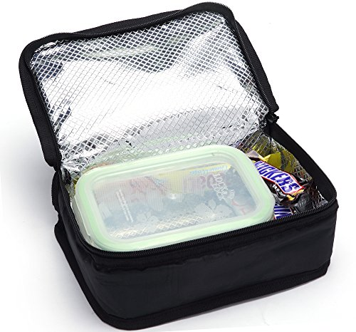 Mier Portable Thermal Insulated Cooler Bag Mini Lunch Bag