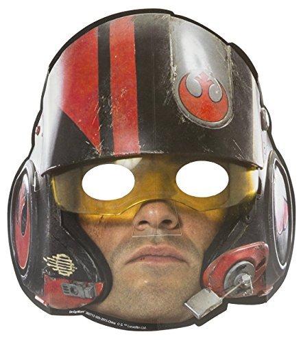 Star Wars 8 Despertar de la fuerza de la película los niños fiesta de cumpleaños máscaras de papel: Amazon.es: Juguetes y juegos