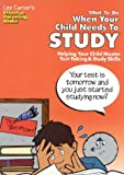 What to Do When Your Child Won't Study, Lee Canter, 0939007835